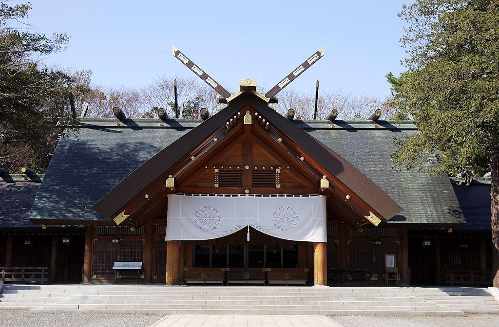 片思い 神社 北海道